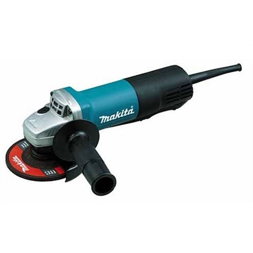 "4-1/2"" Paddle Switch Angle Grinder, with AC/DC Switch"