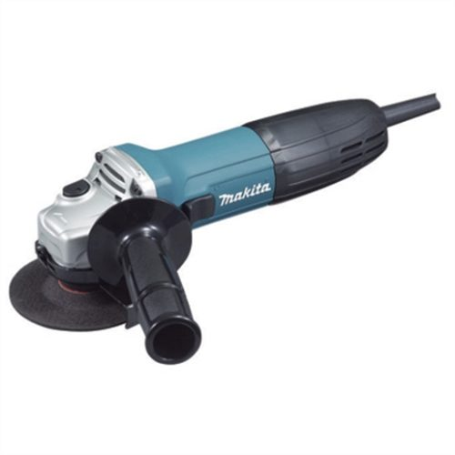 "Electric 6Amp 4"" Angle Grinder, 11,000 RPM, Locking On/Off Switch, and Side Handle"