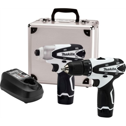 2-Piece 12V Drill Driver and Imp Driver Combo Kit (DT01W + FD02W)