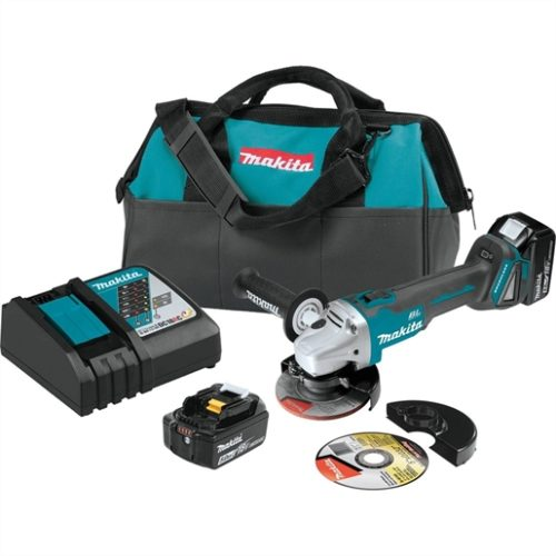 "18V LXT Brushless Cordless 4.5/ 5"" Cut-Off, Angle Grinder Kit"
