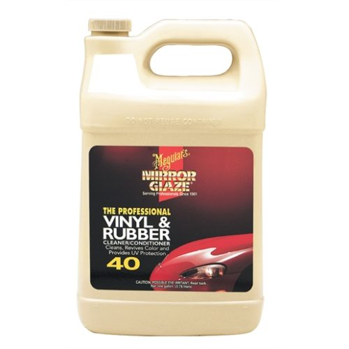 Meguiar's® Pro Vinyl and Rubber Cleaner/Conditione