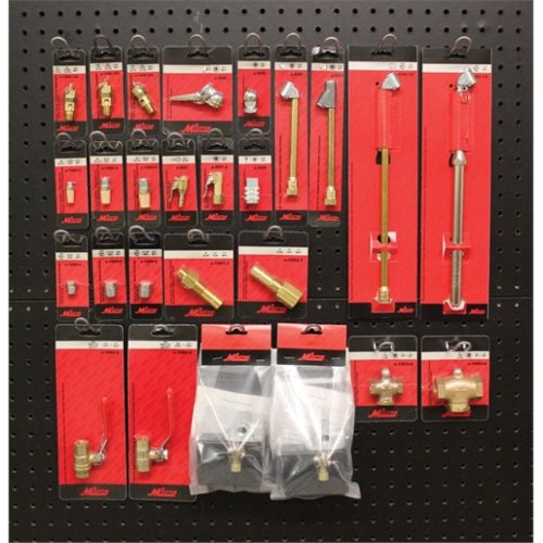 2' X 2' Pneumatic Accessories Merchandiser