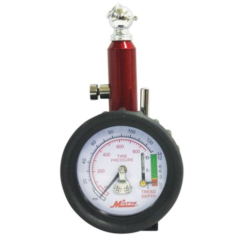 Dial Tire Gauge 0-120 PSI - 2 lb increments