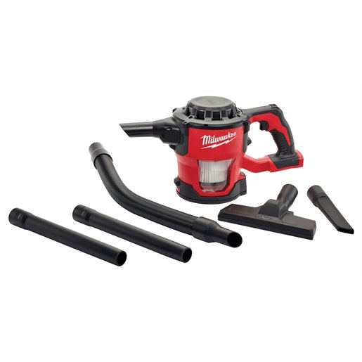 M18 COMP VACUUM 4 FT. HOSE, CREVICE TOOL, EXTENSIONS FLOOR TOOL