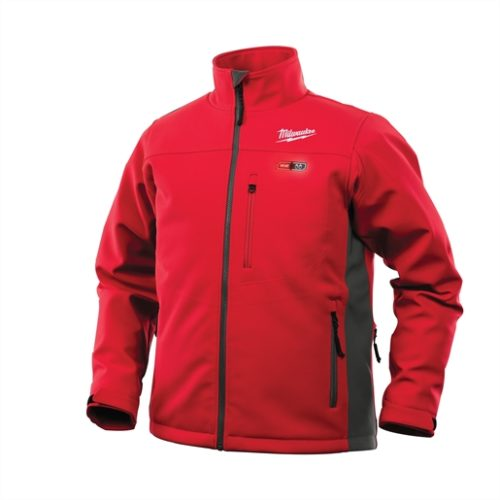 M12 HEATED JACKET KIT, RED/GRAY, XXXL
