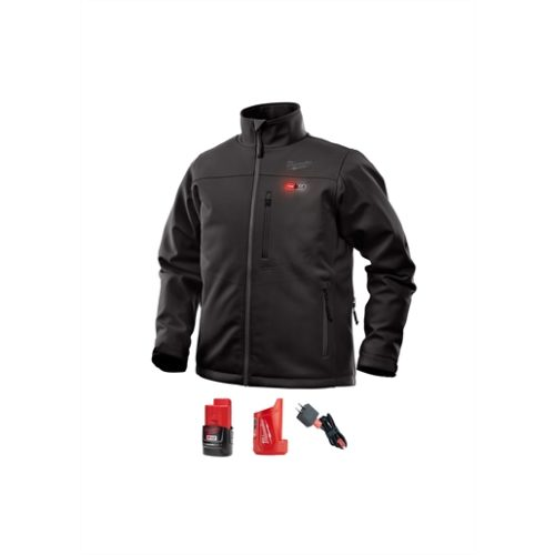 M12 HEATED TOUGHSHELL JACKET KIT, SIZE SMALL (BLACK)