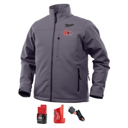 M12 HEATED TOUGHSHELL JACKET KIT S (GRAY)