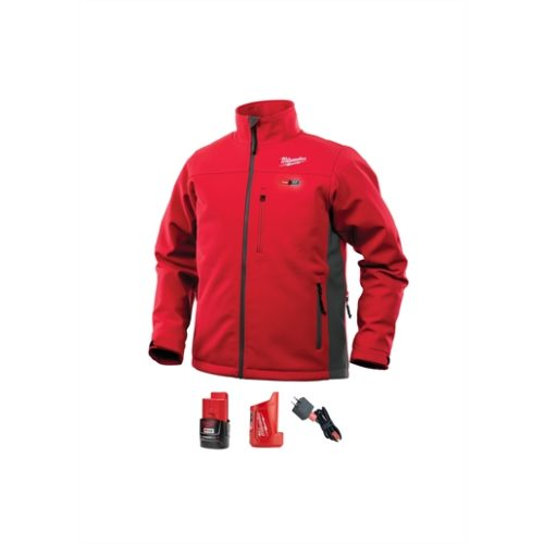 M12 HEATED TOUGHSHELL JACKET KIT 3X (RED)