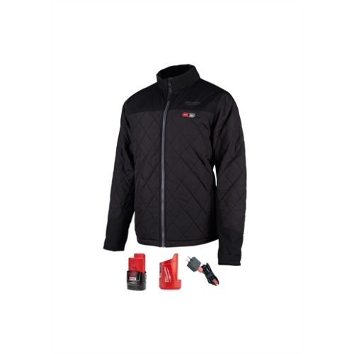 M12 HEATED AXIS JACKET KIT, SIZE 3X (BLACK)