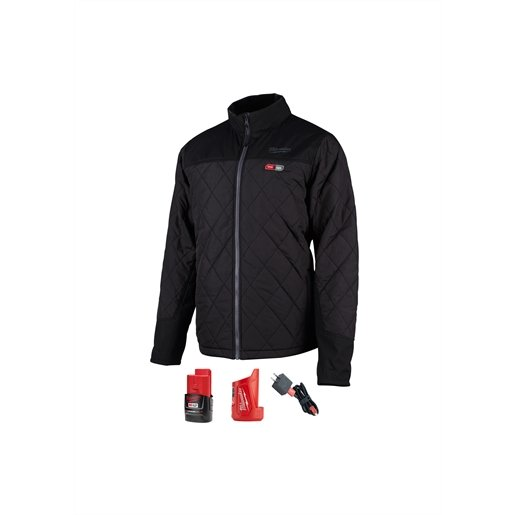 M12 HEATED AXIS JACKET KIT, SIZE SMALL (BLACK)