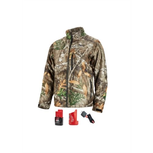 M12 HEATED QUIETSHELL JACKET KIT, SIZE SMALL (REALTREE CAMO)