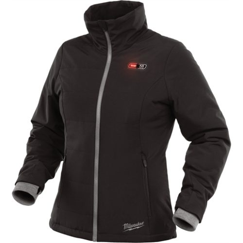 M12 HEATED WOMEN'S BLACK JACKET KIT, MEDIUM