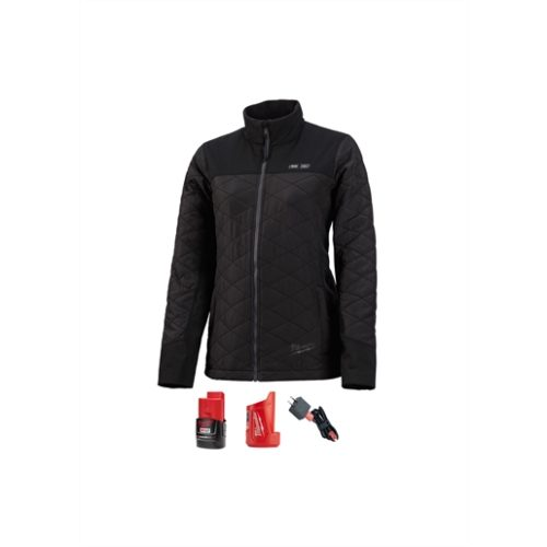 M12 HEATED WOMEN'S AXIS JACKET KIT, SIZE SMALL (BLACK)