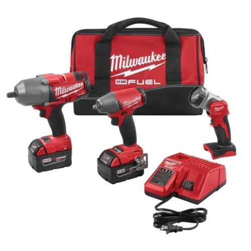 M18 FUEL CORDLESS LITH-ION 3 TOOL COMBO KIT
