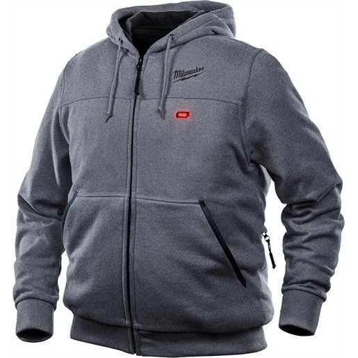 M12 HEATED HOODIE KIT 2X (GRAY)