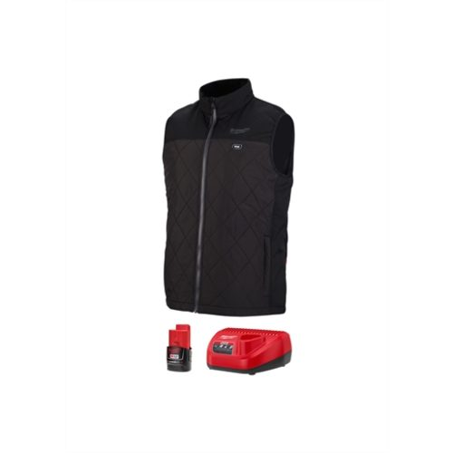 M12 HEATED AXIS VEST KIT, SIZE SMALL (BLACK)