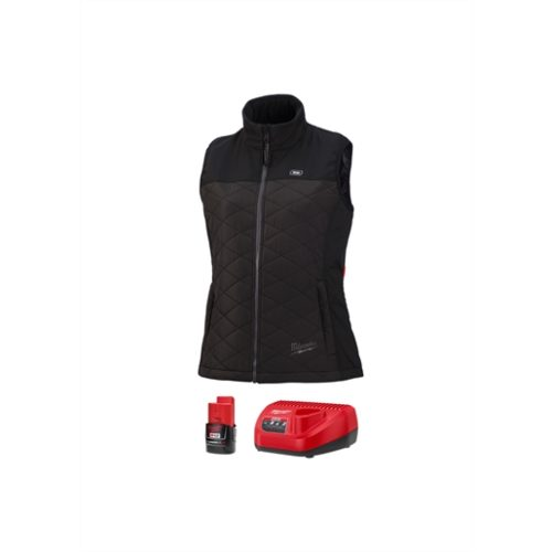 M12 HEATED WOMEN'S AXIS VEST KIT, SIZE SMALL (BLACK)