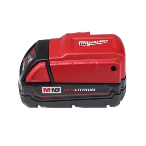 M18 RED LITHIUM POWER SOURCE FOR M12 HEATED JACKETS, PHONE, MP3 PLAYER, DIGITAL CAMERA