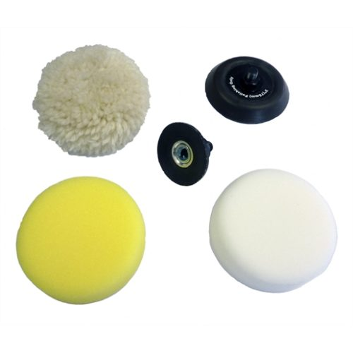 5-PC M12 SPOT POLISHER / SANDER ACCESSORY KIT