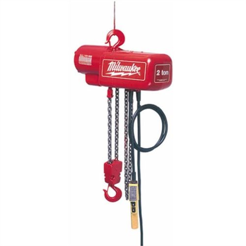 1-TON ELECTRIC 10 FT. LIFT HEIGHT CHAIN HOIST