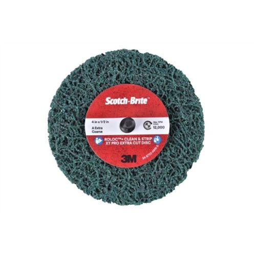 Scotch-Brite RolocXT Pro Extra Cut Disc 4In 1/2 in
