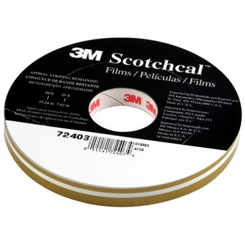 "STRIPING TAPE-GOLD METALLIC 1/2"" DOUBLE 150' ROLL"