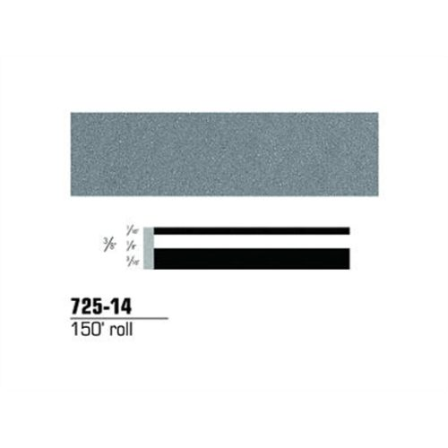 "STRIPING TAPE-LT SLATE METALLIC 3/8"" DOUBLE 150'RL"