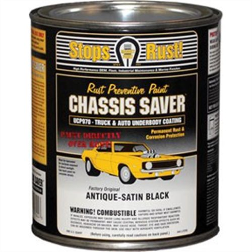 Chassis Saver Satin Black-QT