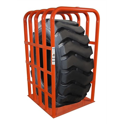 OTR TIRE INFLATION CAGE
