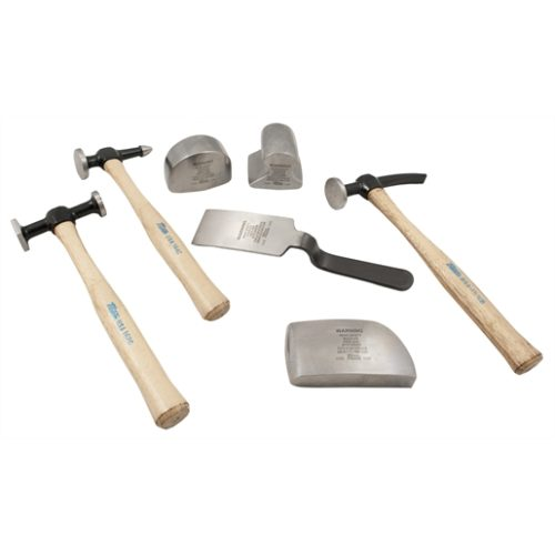7-Piece Body and Fender Repair Set with Hickory Ha