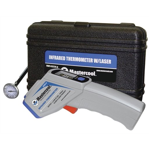 INFRARED THERMOMETER IN CASE W/FREE 52220