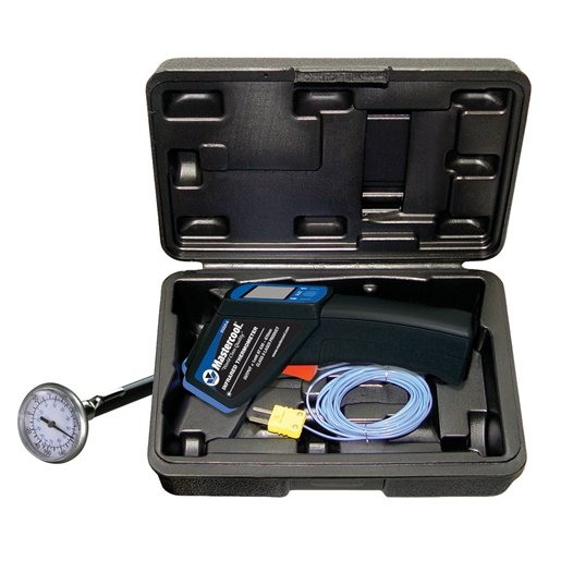 HIGH TEMP INFRARED THERMOMETER/IMMERSION PROBE