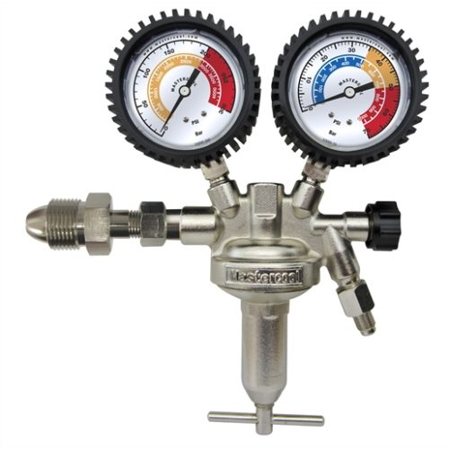 Nitrogen leak test regulator