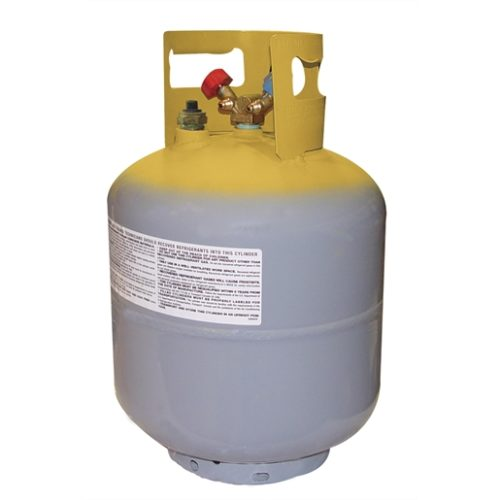 "50lb DOT tank with float switch and 1/2"" acme"