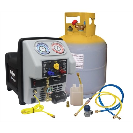 Heavy duty  recovery machine with 50lb DOT tank