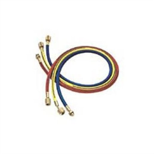 96 in. Red R134a hose