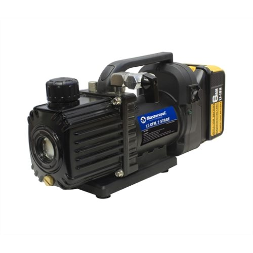 Cordless 1.5CFM 2 stage vacuum pump with battery