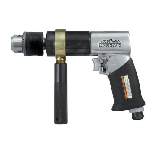 DRILL AIR 1/2 INCH REVERSIBLE 500RPM EXTRA HD