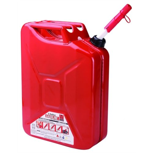 5 Gallon Metal Auto Shutoff Jerry Can