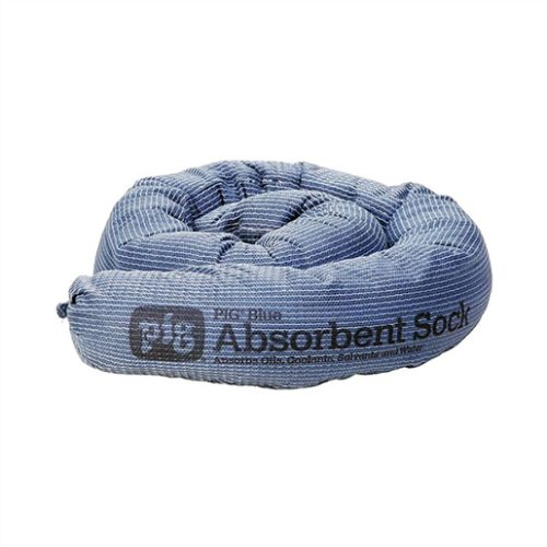 New Pig 3 in. x 48 in. Blue Absorbent Sock