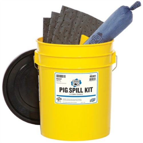 PIG Universal Spill Kit in 5 Gallon Container