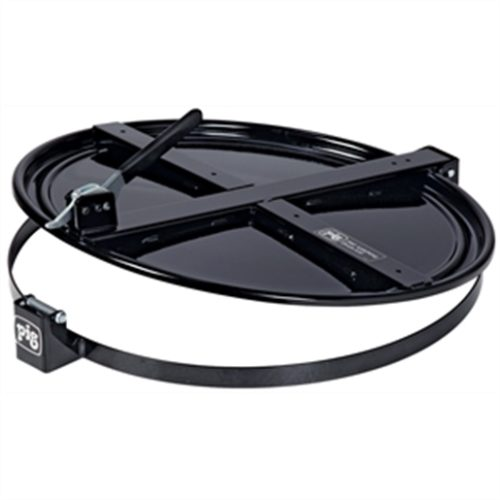 New Pig Latching Drum Lid for 55 Gallon Drum, Blac