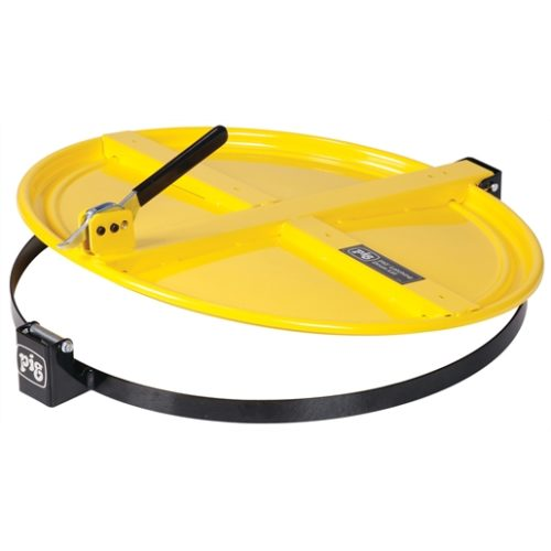 New Pig Latching Drum Lid for 55 Gallon Drum, Yell