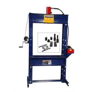 55 ton shop press with free press accessory kit
