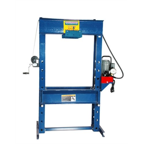 55 ton shop press with rolling head