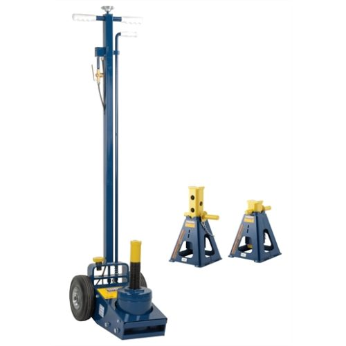 25 ton axle jack with 25 ton jack stands