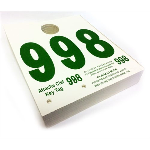 000-999 Dispatch Numbers (French)