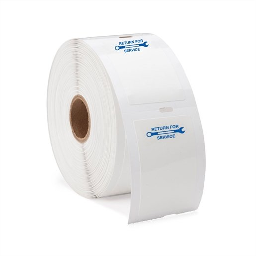 (1 Roll/500) Generic Labels w/Blue Wrench Image