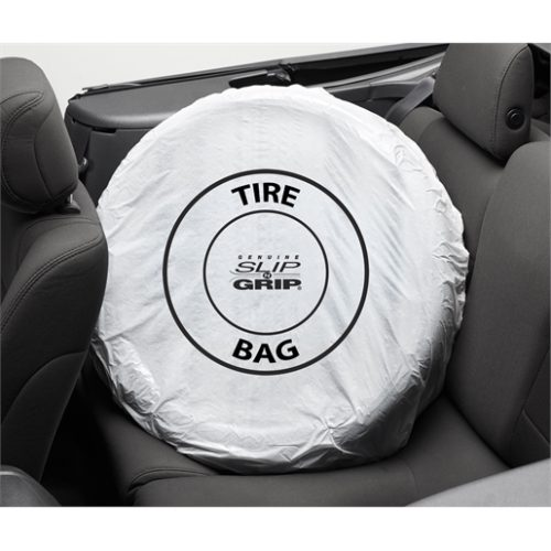 250ROLL Standard Tire Bags White