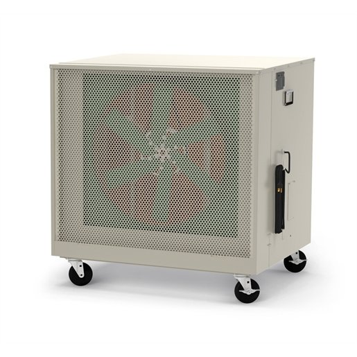 "Mobile Evaporative Cooler 24"" Fan 6500 CFM"